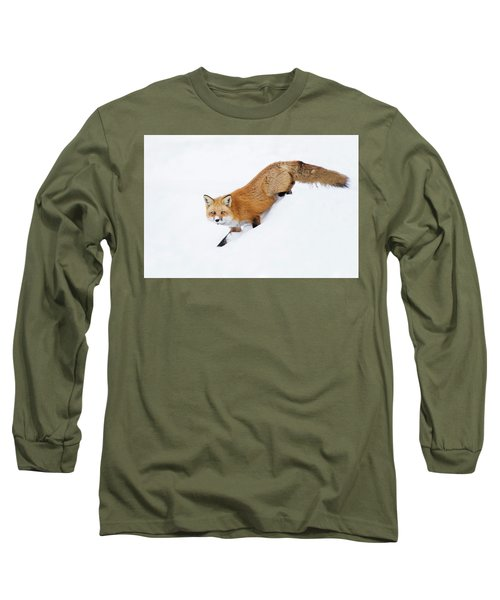 Long Sleeve T-Shirt featuring the photograph Mr Sly by Mircea Costina Photography