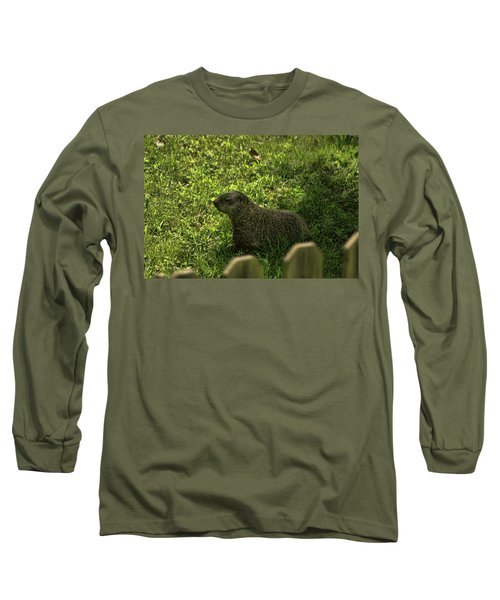 Mr Woodchuck Long Sleeve T-Shirt