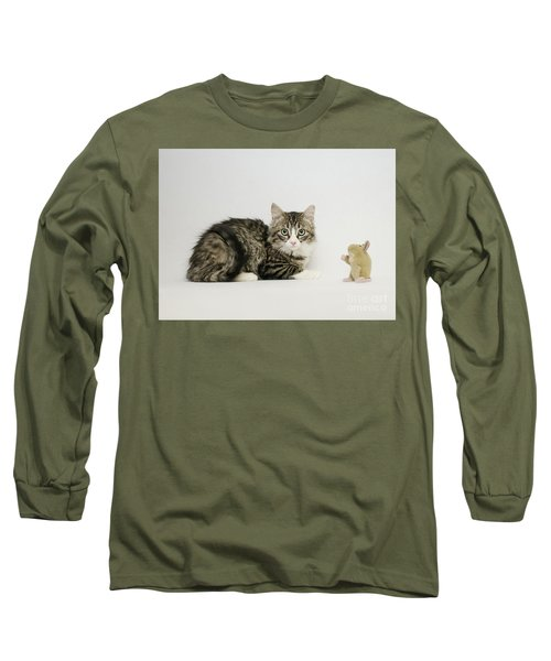 Ms Alexia And Mouse Long Sleeve T-Shirt