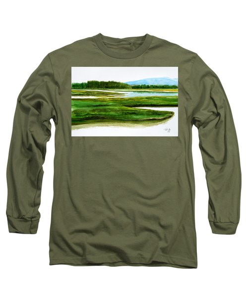 Mt Desert Island Long Sleeve T-Shirt