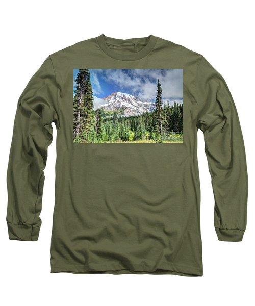 Mt. Rainier National Park Long Sleeve T-Shirt
