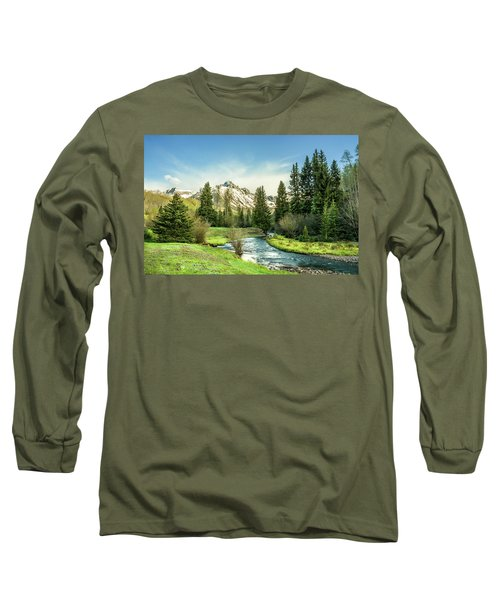 Mt. Sneffels Peak Long Sleeve T-Shirt