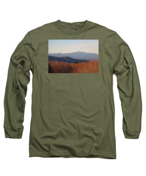 Mt Washington Nh Long Sleeve T-Shirt
