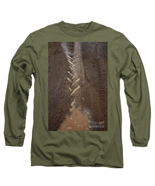 Long Sleeve T-Shirt featuring the photograph Mud Escape by Stephen Mitchell