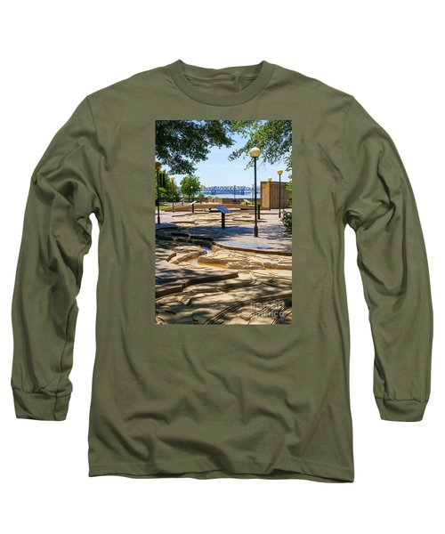 Mud Island Park Long Sleeve T-Shirt by Jennifer White