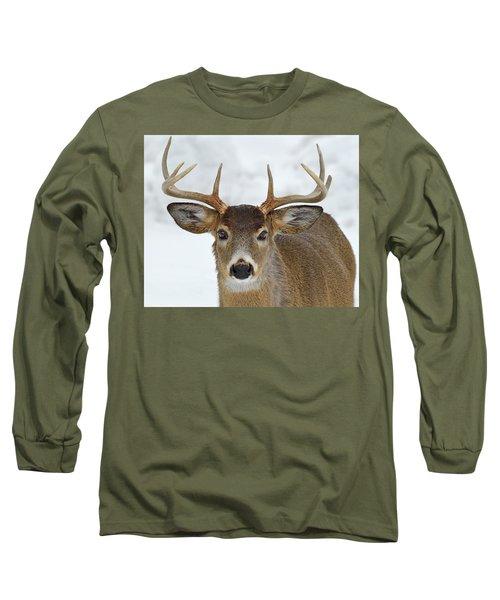 Long Sleeve T-Shirt featuring the photograph Mug Shot by Tony Beck