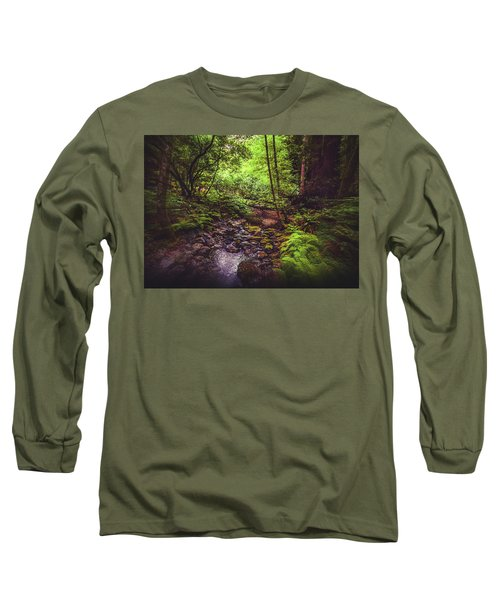 Muir Woods No. 3 Long Sleeve T-Shirt by Laura DAddona