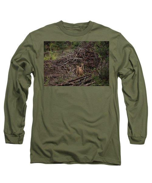 Muledeerfawns2 Long Sleeve T-Shirt