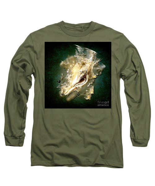 Long Sleeve T-Shirt featuring the painting Multidimensional Finds by Alexa Szlavics