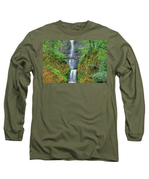 Multnomah Falls 2  Long Sleeve T-Shirt