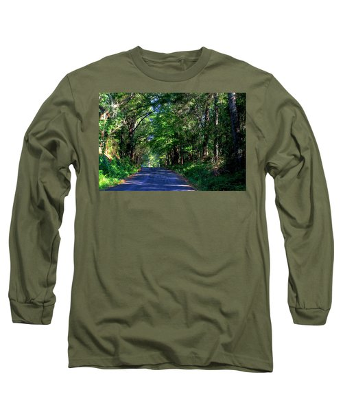 Long Sleeve T-Shirt featuring the photograph Murphy Mill Road - 2 by Jerry Battle