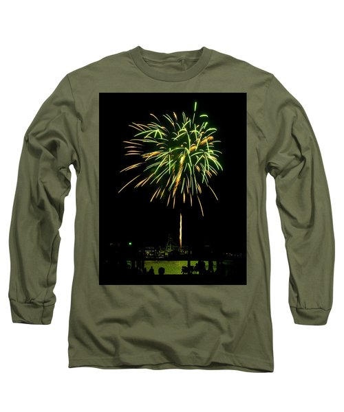 Murrells Inlet Fireworks Long Sleeve T-Shirt