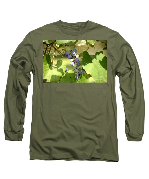 Muscadine Grapes Long Sleeve T-Shirt