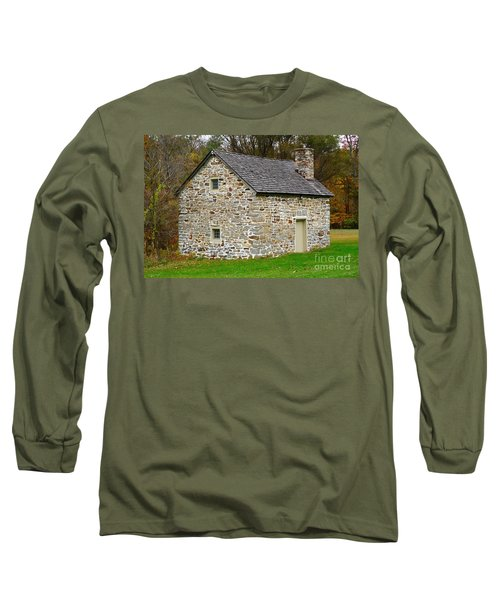 Museum Of Indian Culture Long Sleeve T-Shirt by Jeannie Rhode
