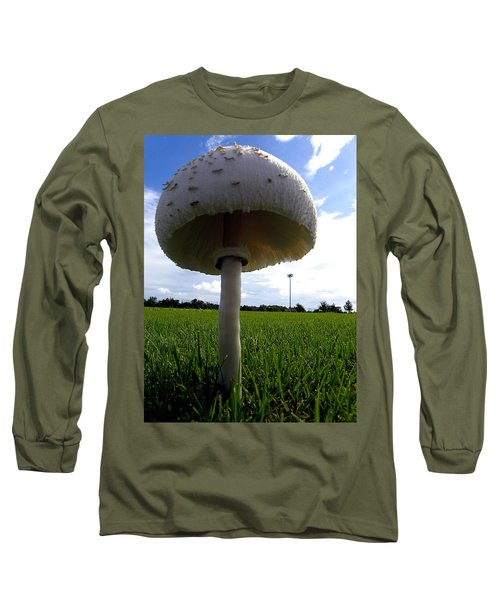Mushroom 005 Long Sleeve T-Shirt by Chris Mercer