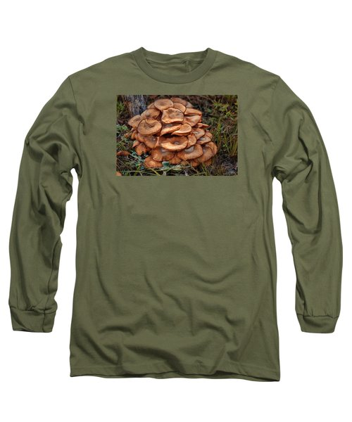 Long Sleeve T-Shirt featuring the photograph Mushroom Bouquet by Rick Friedle