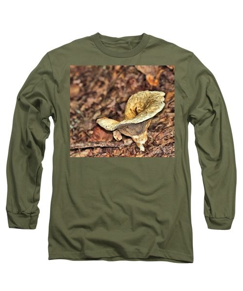 Long Sleeve T-Shirt featuring the photograph Mushroom by Debbie Stahre