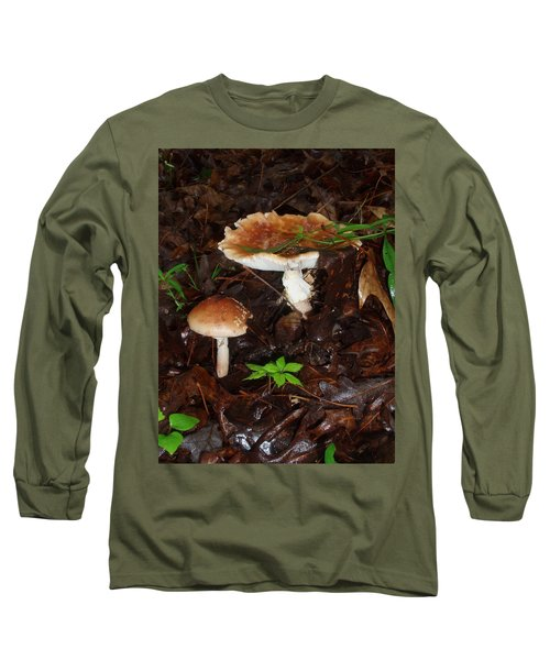 Mushrooms Rising Long Sleeve T-Shirt