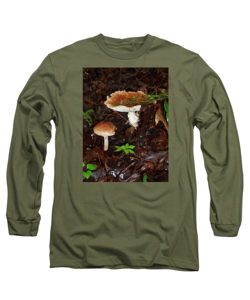 Mushrooms Rising Long Sleeve T-Shirt