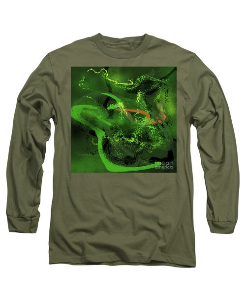 Music In Green Long Sleeve T-Shirt