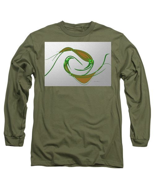 Music Takes Flight Long Sleeve T-Shirt by Lenore Senior