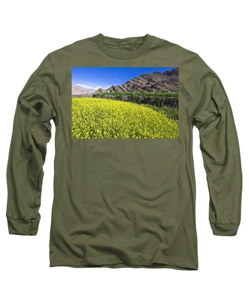 Mustard Field, Hemis, 2007 Long Sleeve T-Shirt