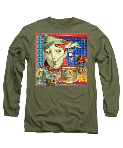 Long Sleeve T-Shirt featuring the photograph My Circus by Jeff Burgess