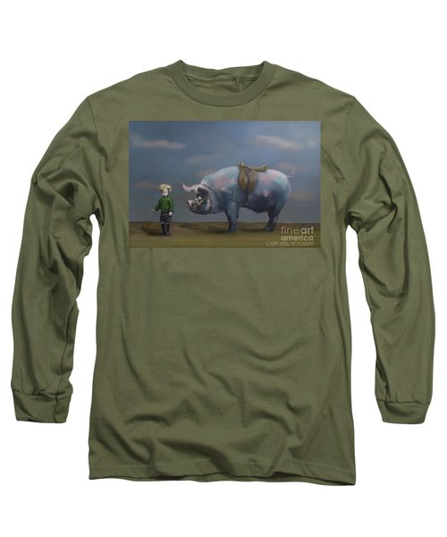 My Pony Long Sleeve T-Shirt by Kathy Russell
