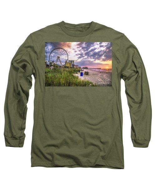 Myrtle Beach Sunrise Long Sleeve T-Shirt