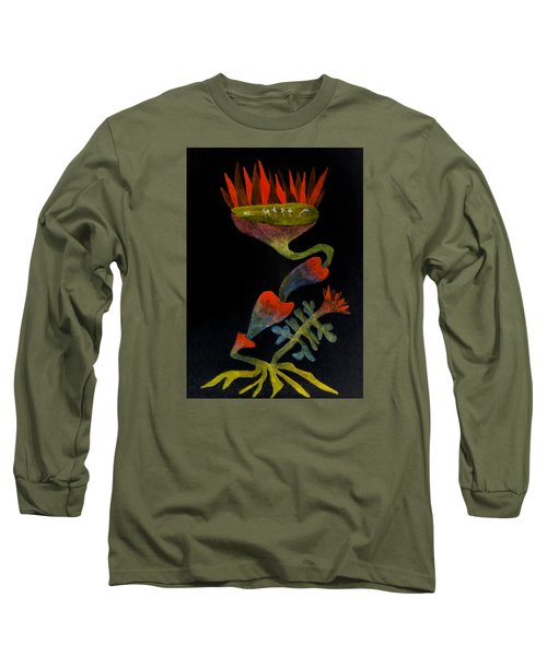 Mysterious Long Sleeve T-Shirt by R Kyllo
