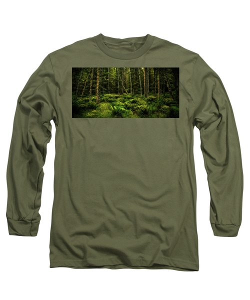 Mysterious Forest Long Sleeve T-Shirt