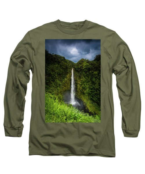 Mystic Waterfall Long Sleeve T-Shirt