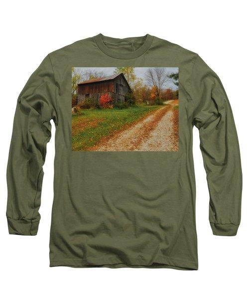 Mystical Country Lane  Long Sleeve T-Shirt