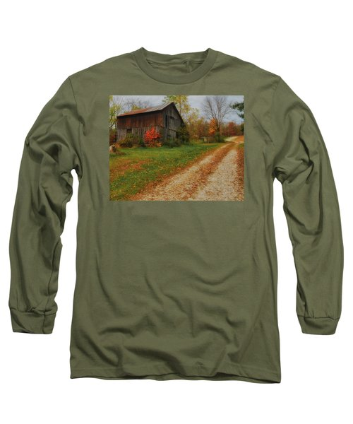Mystical Country Lane  Long Sleeve T-Shirt