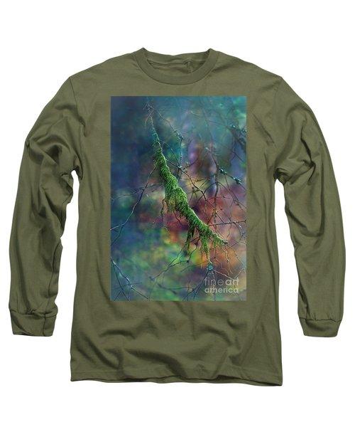 Mystical Moss - Series 1/2 Long Sleeve T-Shirt by Agnieszka Mlicka