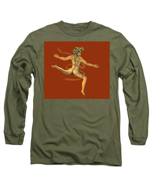 Naked Dancer Long Sleeve T-Shirt