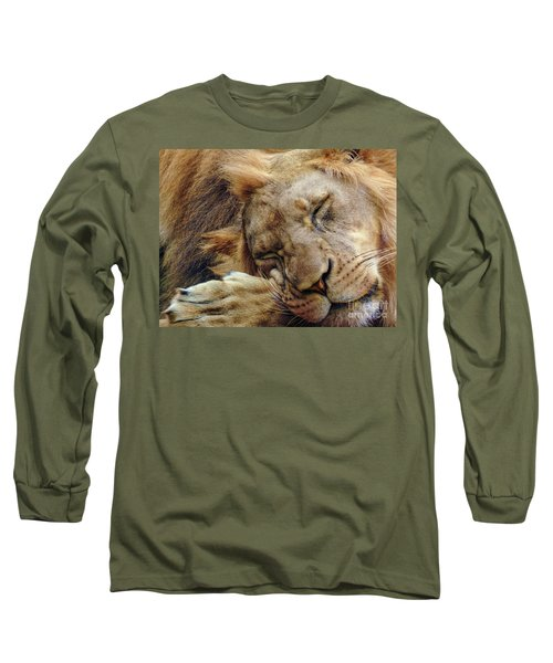 Napping Long Sleeve T-Shirt