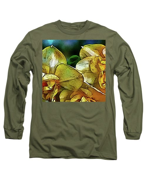 Long Sleeve T-Shirt featuring the photograph Narcissus by Jolanta Anna Karolska