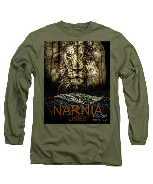 Long Sleeve T-Shirt featuring the photograph Narnia Lives by Michael Arend