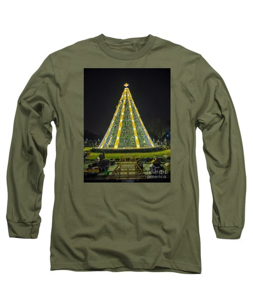 National Christmas Tree #1 Long Sleeve T-Shirt