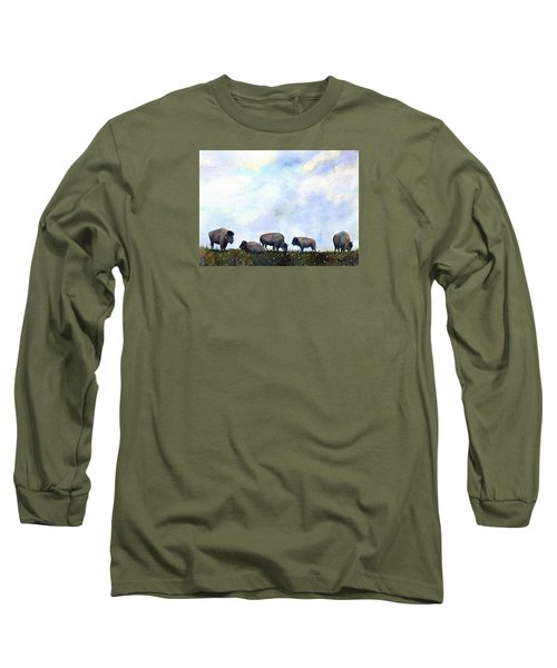 National Treasure - Bison Long Sleeve T-Shirt