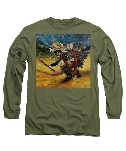 Native American Rain Dance Long Sleeve T-Shirt