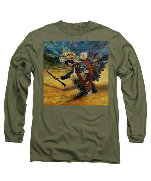 Native American Rain Dance Long Sleeve T-Shirt