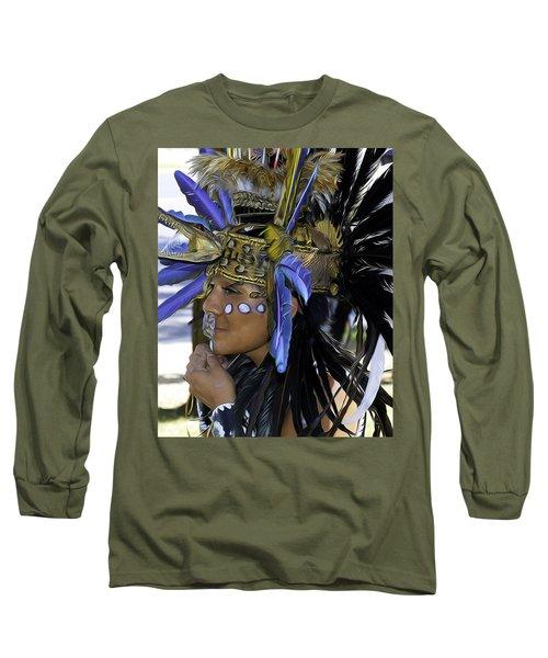 Native Blue Long Sleeve T-Shirt