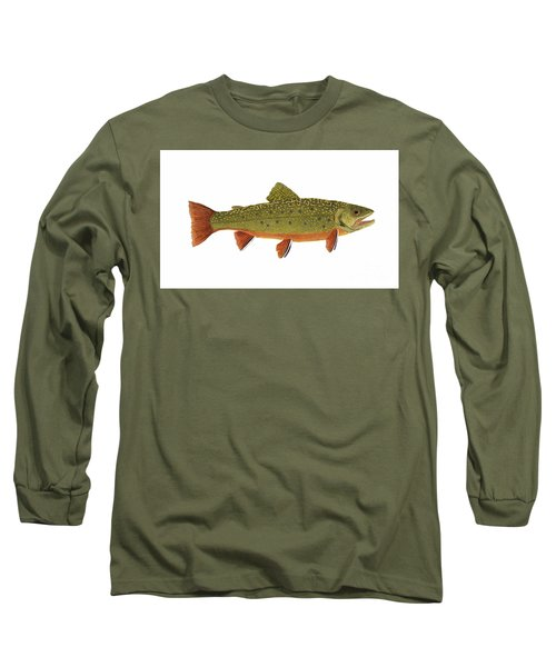 Native Brook Trout Long Sleeve T-Shirt