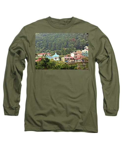 Long Sleeve T-Shirt featuring the photograph Native Village In Taiwan by Yali Shi