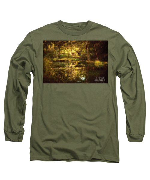 Natural Falls Bridge  Long Sleeve T-Shirt