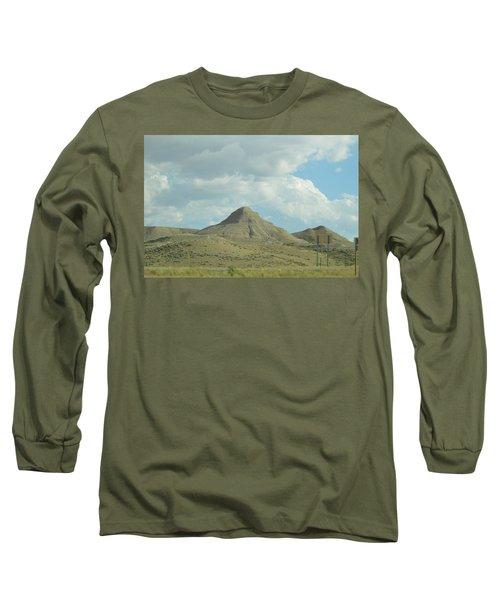 Natural Pyramid Long Sleeve T-Shirt