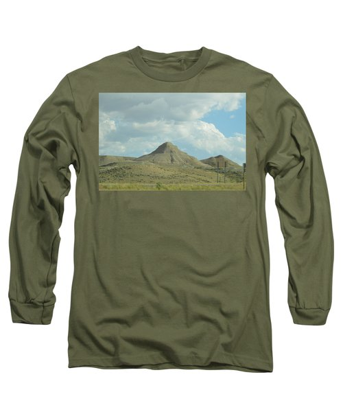 Natural Pyramid Long Sleeve T-Shirt
