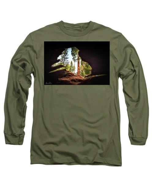 Natural Window Long Sleeve T-Shirt